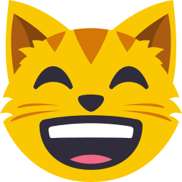 Cat Themed Emoji: by EmojiOne messages sticker-11