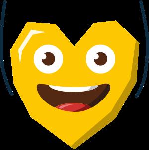 Heartist® Emoji messages sticker-9