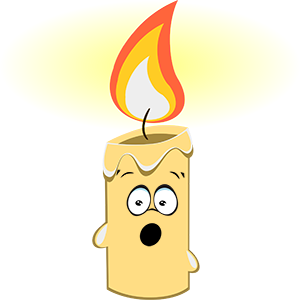 Marvin the Candle messages sticker-11