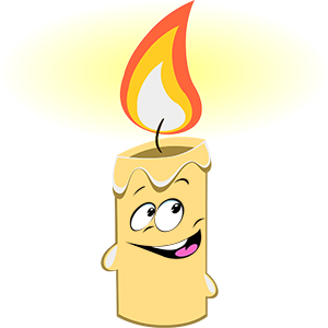 Marvin the Candle messages sticker-0