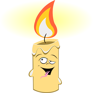 Marvin the Candle messages sticker-2