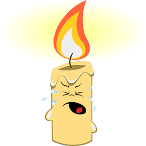 Marvin the Candle messages sticker-5