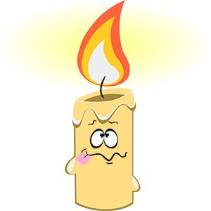 Marvin the Candle messages sticker-9