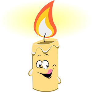 Marvin the Candle messages sticker-3