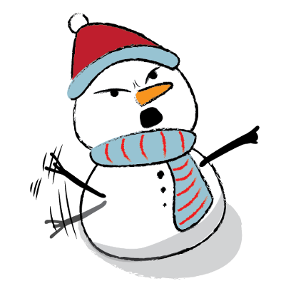 Cute & Lovely Snowman Stickers messages sticker-6