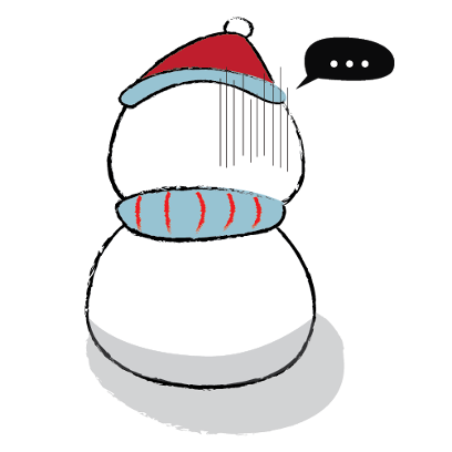 Cute & Lovely Snowman Stickers messages sticker-9