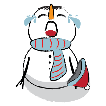 Cute & Lovely Snowman Stickers messages sticker-10