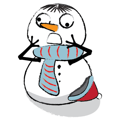 Cute & Lovely Snowman Stickers messages sticker-7