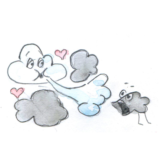 Dream Stickers - Happy Cloud messages sticker-2