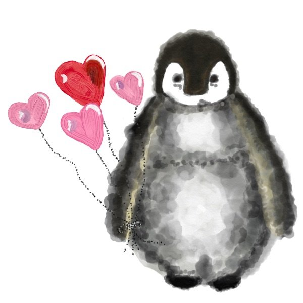 Love Penguin Stickers messages sticker-7