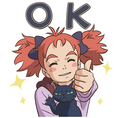 Mary and The Witch's Flower messages sticker-6