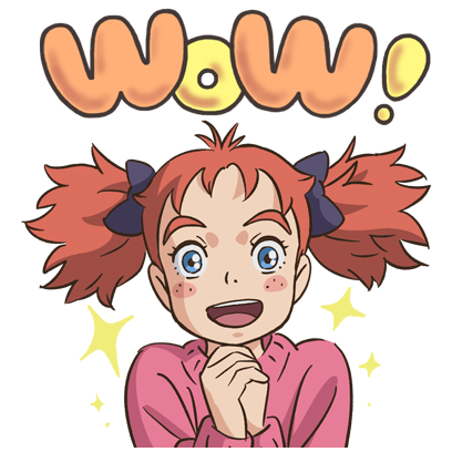 Mary and The Witch's Flower messages sticker-1