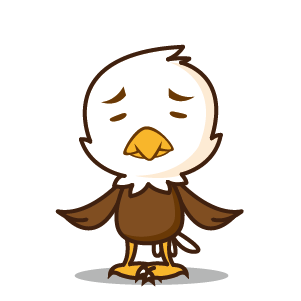 Bald Eagle Stickers messages sticker-4