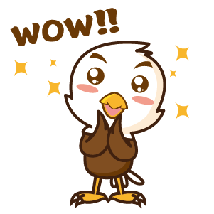 Bald Eagle Stickers messages sticker-9