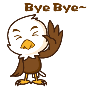 Bald Eagle Stickers messages sticker-8