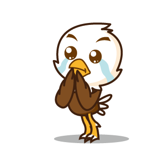 Bald Eagle Stickers messages sticker-11