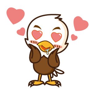 Bald Eagle Stickers messages sticker-6