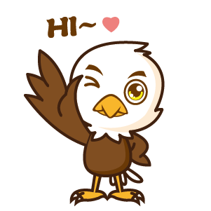 Bald Eagle Stickers messages sticker-0
