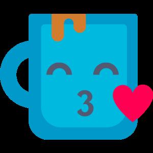 Happy Mug Stickers messages sticker-6