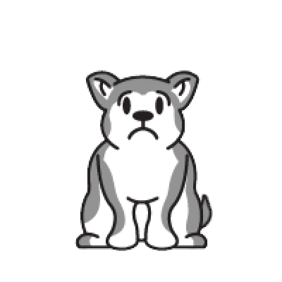 Animated Husky messages sticker-8
