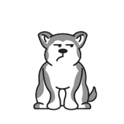 Animated Husky messages sticker-11