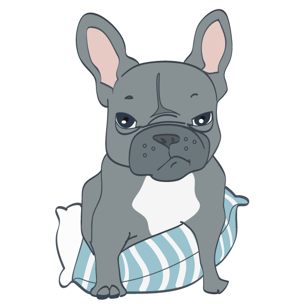 Dusty the Bulldog messages sticker-1