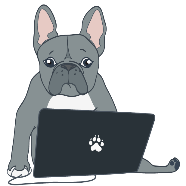 Dusty the Bulldog messages sticker-5