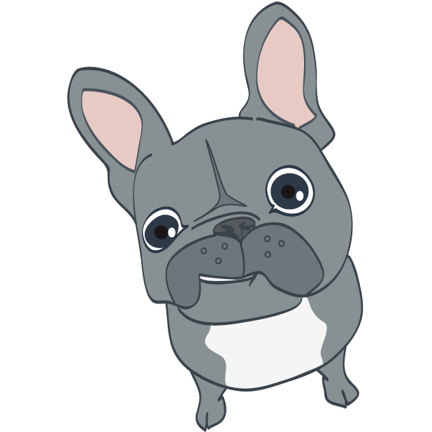 Dusty the Bulldog messages sticker-6