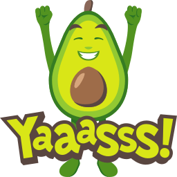 Avocado Adventures by EmojiOne messages sticker-2