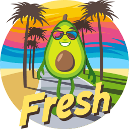 Avocado Adventures by EmojiOne messages sticker-1