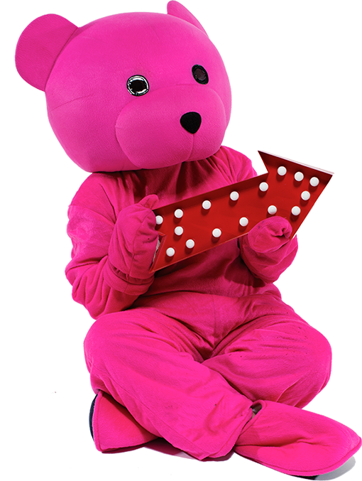 Pink Bear Stickers messages sticker-8
