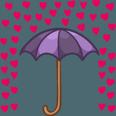 Love Hate Valentine's Sticker messages sticker-6