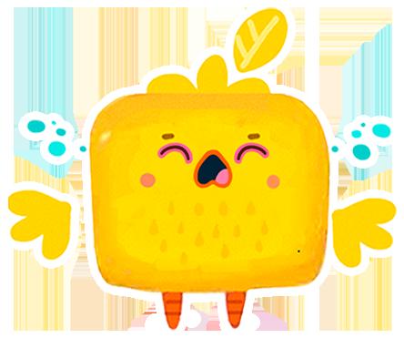Cutie Cubies messages sticker-10