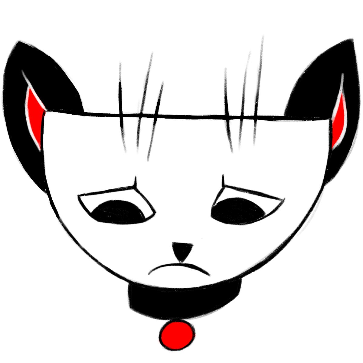 Cranky Cat messages sticker-4