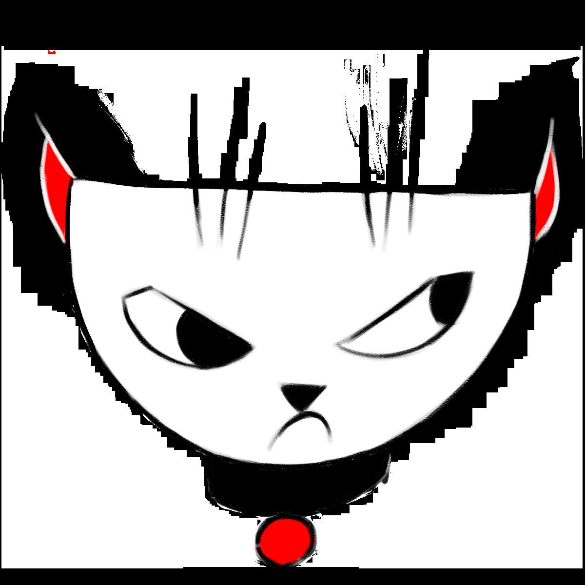 Cranky Cat messages sticker-0