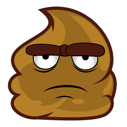Poopy Emoji messages sticker-10