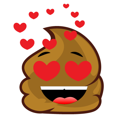 Poopy Emoji messages sticker-7