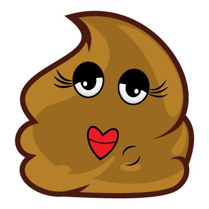 Poopy Emoji messages sticker-4