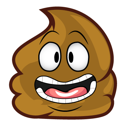 Poopy Emoji messages sticker-9