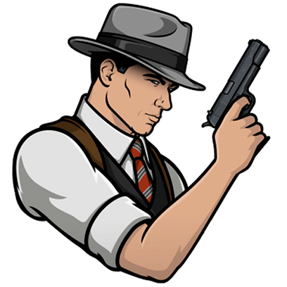 Archer Stickers messages sticker-10