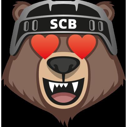 Bärmoji-Sticker - SC Bern messages sticker-3