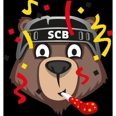 Bärmoji-Sticker - SC Bern messages sticker-10