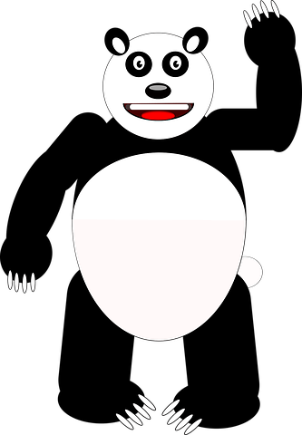 Panda Stickers - 2018 messages sticker-7