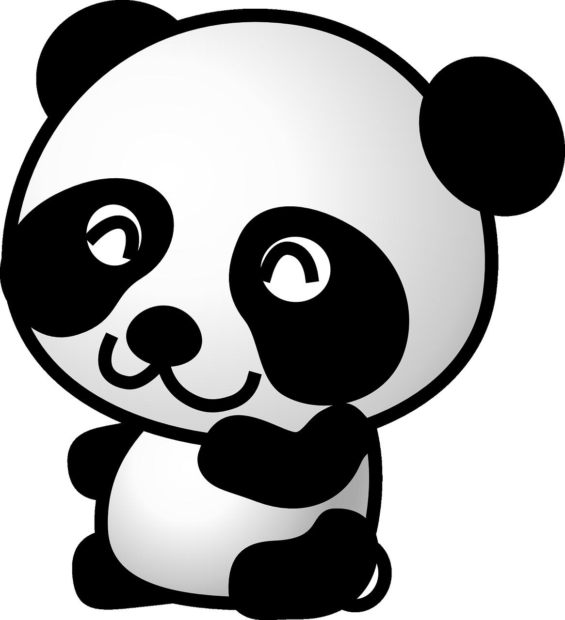 Panda Stickers - 2018 messages sticker-1
