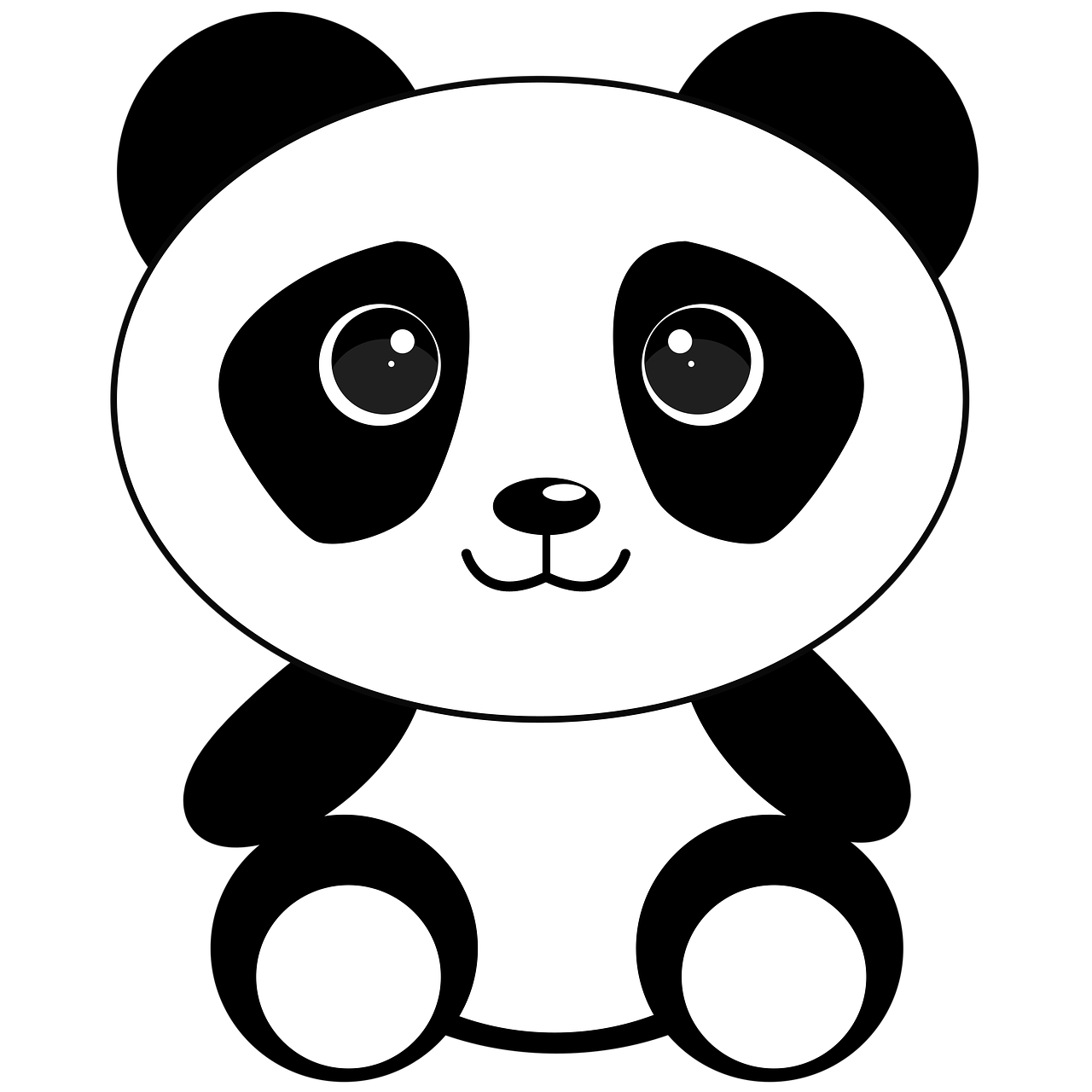 Panda Stickers - 2018 messages sticker-0
