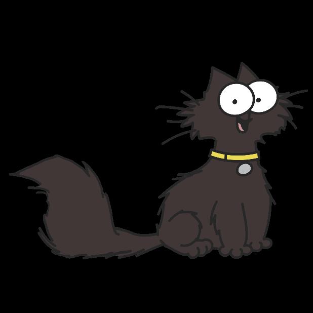 Simon's Cat - Pop Time messages sticker-0