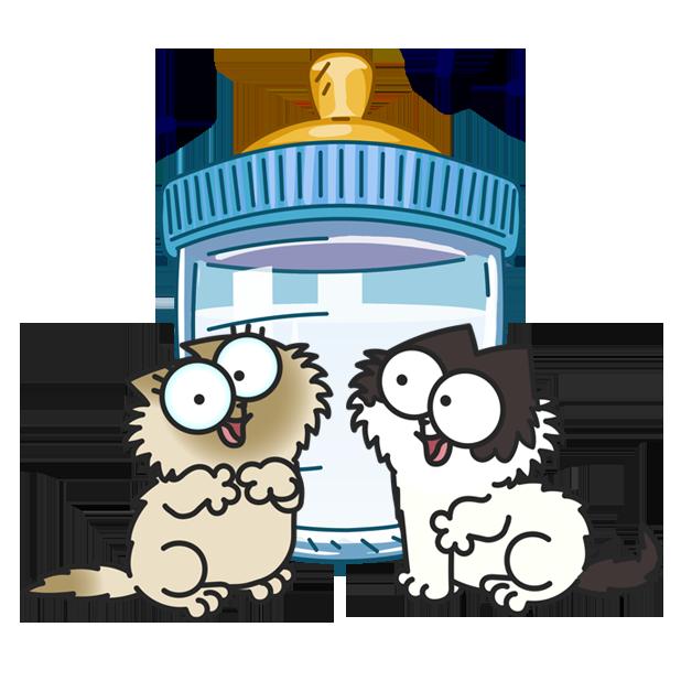 Simon's Cat - Pop Time messages sticker-7