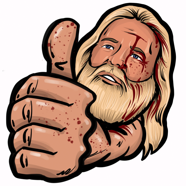 Hardcoremojis messages sticker-1
