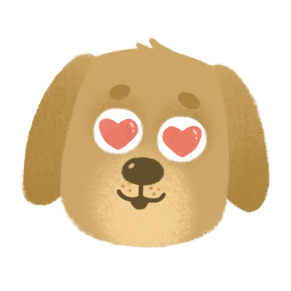 Doggy I Love You messages sticker-7