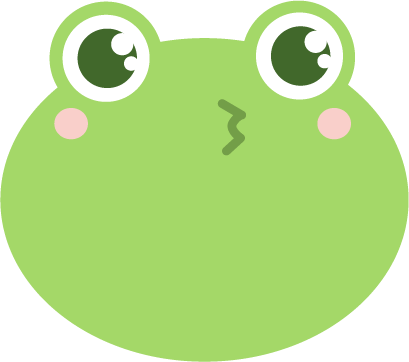 Frog: Smiley Emoji Stickers messages sticker-1